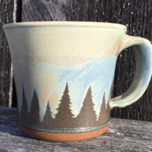 Yellow Evergreen Mug